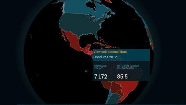 Conferencia sobre datos de homicidios en América Latina - Sputnik Mundo