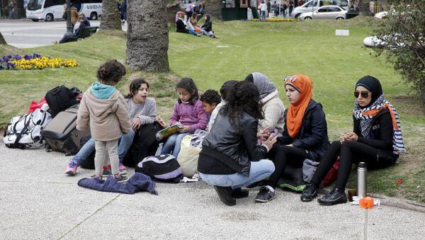Refugiados sirios en Uruguay - Sputnik Mundo