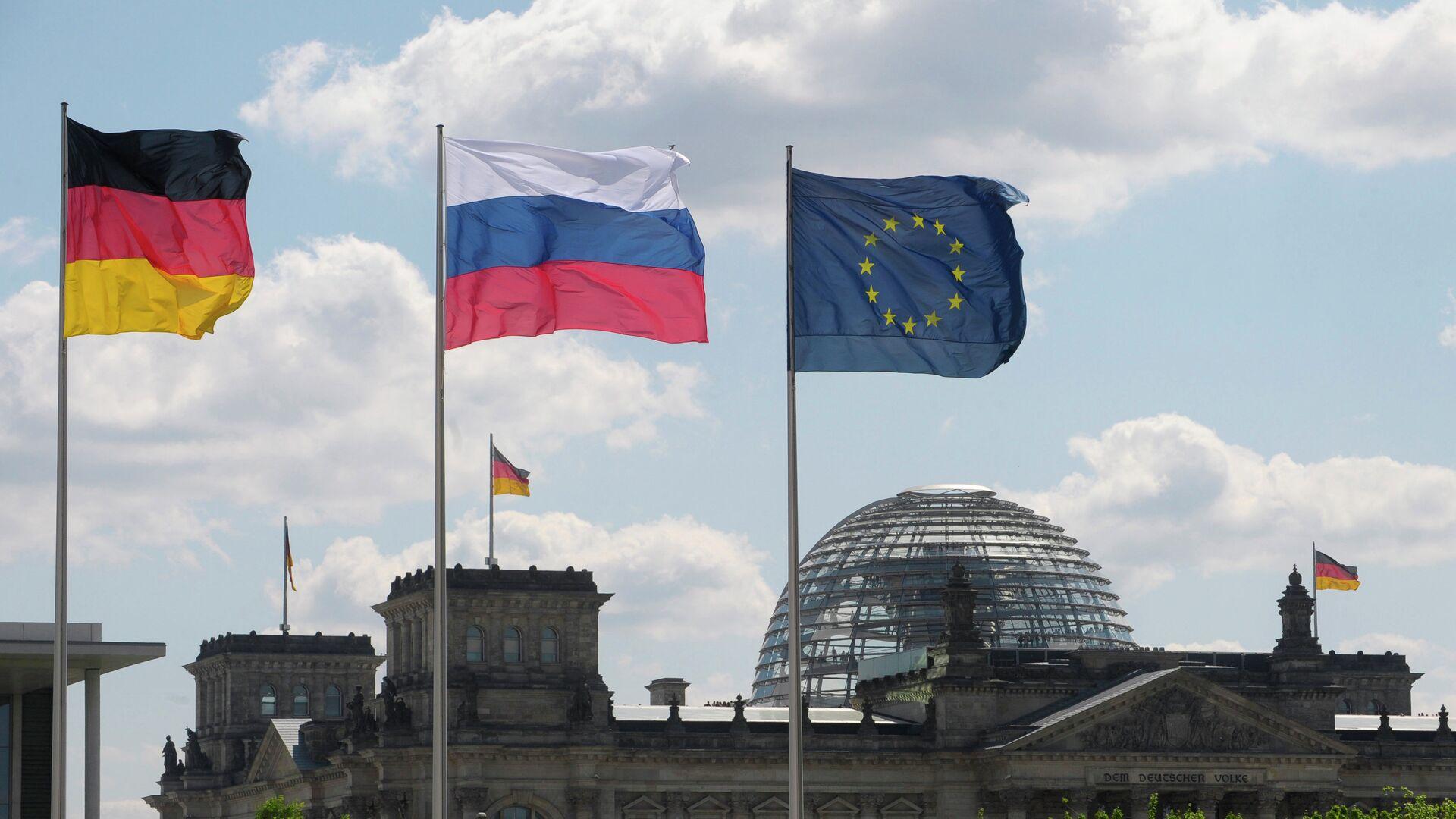 Banderas de Alemania y Rusia - Sputnik Mundo, 1920, 17.04.2021