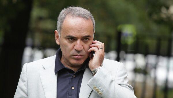 Garry Kasparov - Sputnik Mundo