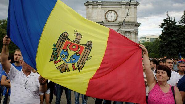 Acciones de protesta en Moldavia - Sputnik Mundo