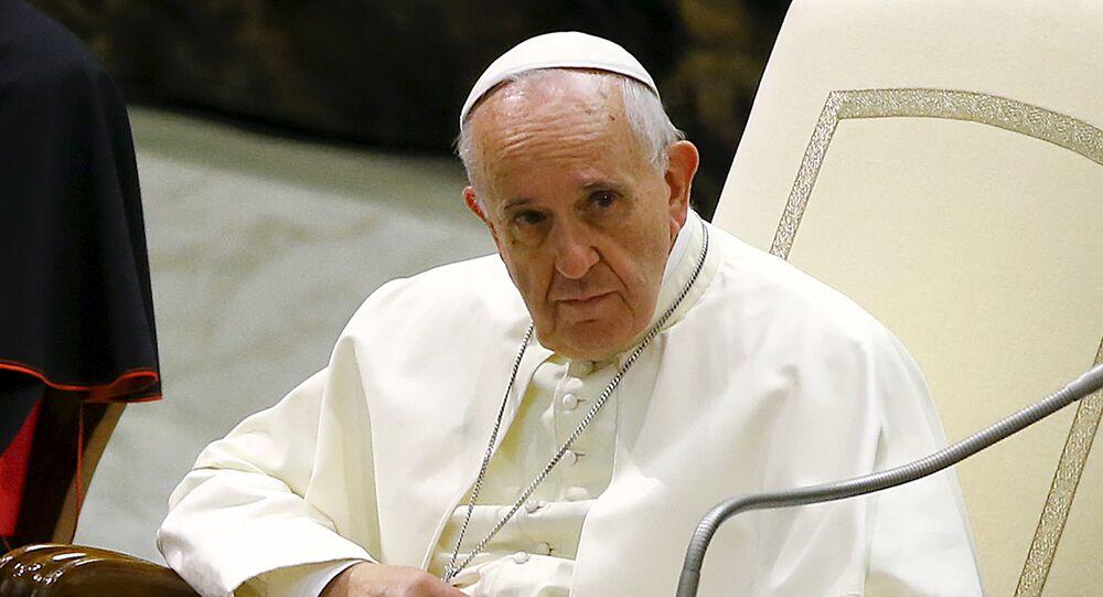 El Papa Francisco (archivo)