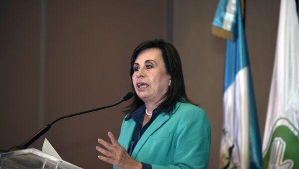 Sandra Torres, candidata a la presidencia de Guatemala - Sputnik Mundo