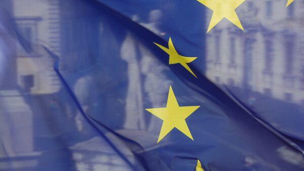 Bandera de la Unión Europea - Sputnik Mundo