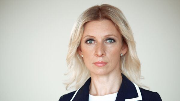 Portavoz del Ministerio de Exteriores de Rusia, María Zajárova - Sputnik Mundo