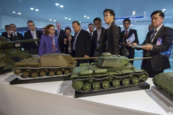 Abre la exposición Russia Arms Expo-2015 - Sputnik Mundo