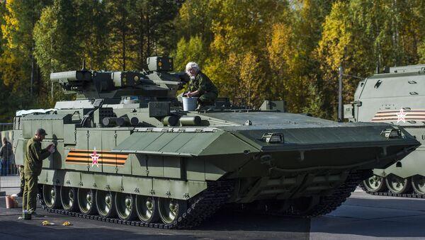 Vehículo pesado de combate de infantería BMP T-15 - Sputnik Mundo