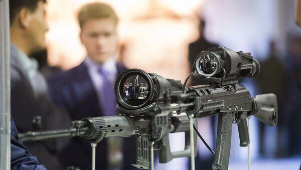 Exposición de armas Russia Arms Expo (archivo) - Sputnik Mundo