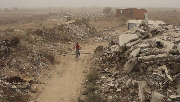Situación en Franja de Gaza - Sputnik Mundo