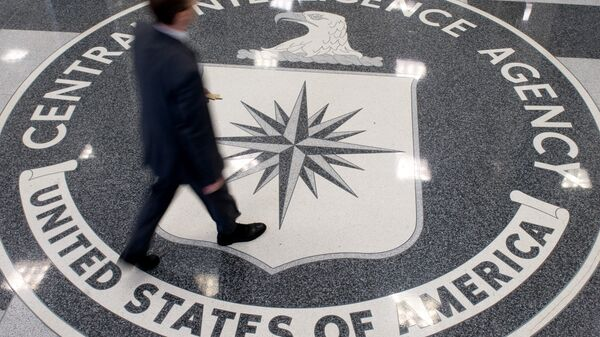 El logo de la CIA (imagen referencial) - Sputnik Mundo
