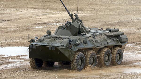 Un BTR-82A (imagen referencial) - Sputnik Mundo
