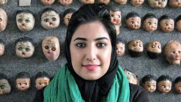 Atena Farghadani, caricaturista iraní - Sputnik Mundo