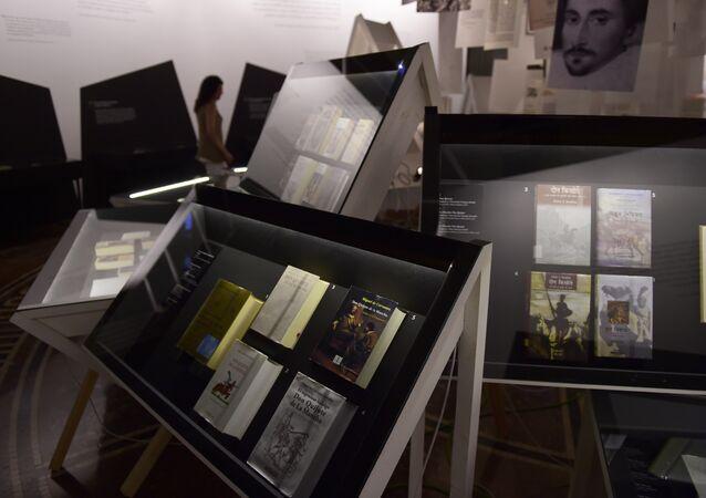 Exposición Quijotes por el mundo en el Instituto Cervantes en Madrid