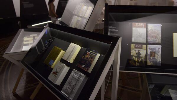 Exposición Quijotes por el mundo en el Instituto Cervantes en Madrid - Sputnik Mundo