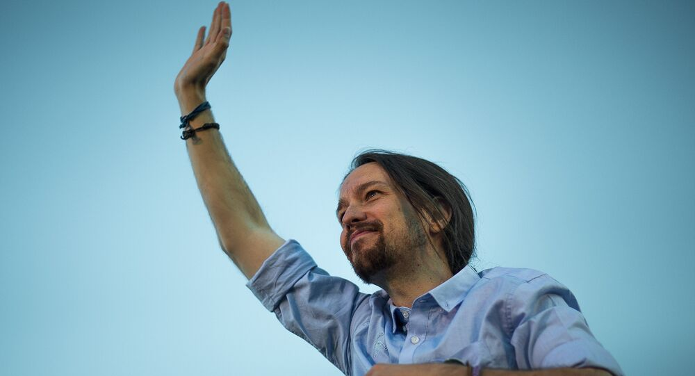 Secretario general de Podemos, Pablo Iglesias