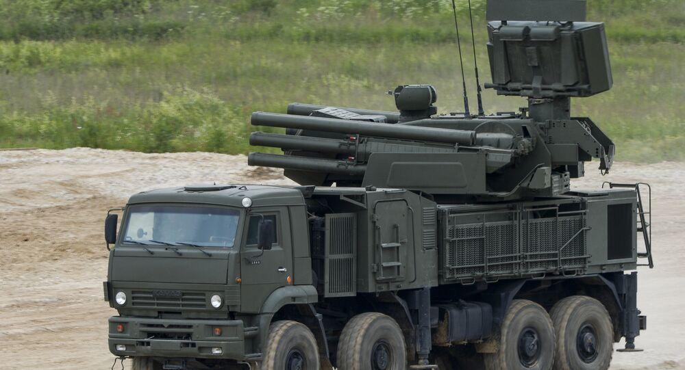 Complejo de artillería antiaérea Pántsir-S (archivo)