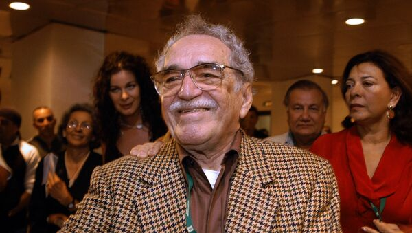 Colombian writer and Nobel Prize for Literature 1982 Gabriel Garcia Marquez attends 05 December, 2006 in Havana the inauguration of the XXVIII New Latin American Cinema festival. - Sputnik Mundo