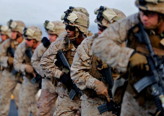 Marines estadounidenses (archivo)