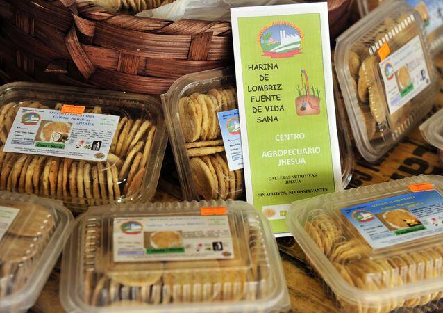 Las galletas de lombriz