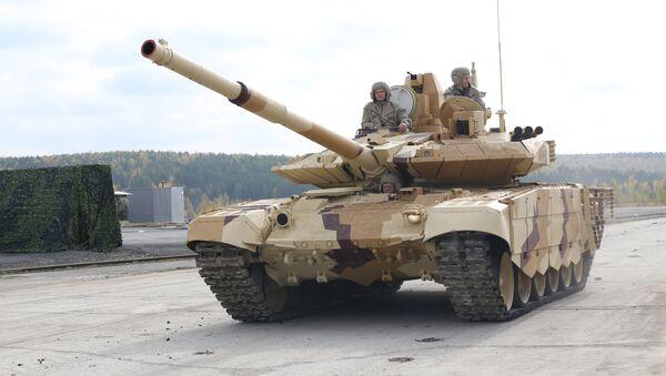 Tanque T-90SM - Sputnik Mundo