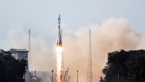 Cohete portador Soyuz-ST (archivo) - Sputnik Mundo