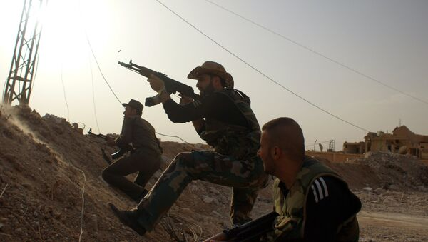 Militares sirios - Sputnik Mundo