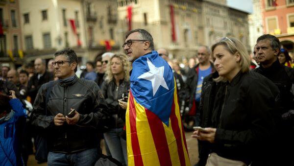 Celebración del Día Nacional de Cataluña, la Diada - Sputnik Mundo