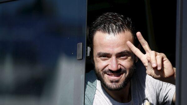 Refugiado sirio - Sputnik Mundo