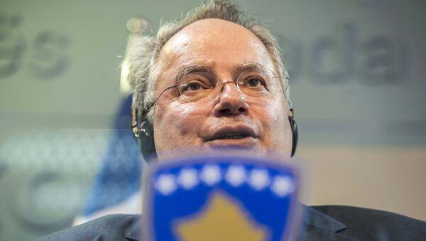Anterior ministro de Exteriores de Grecia, Nikos Kotzias - Sputnik Mundo