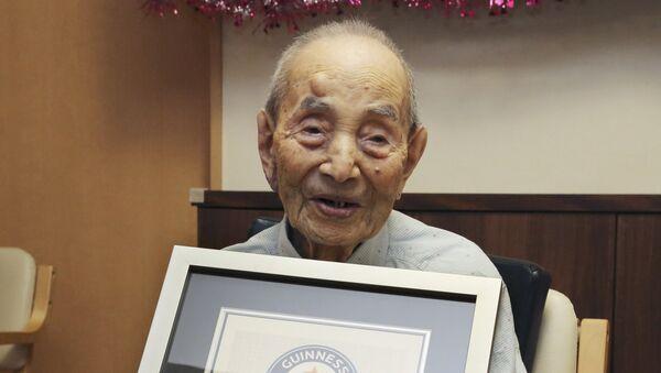 Yasutaro Koide, el hombre más viejo del mundo - Sputnik Mundo