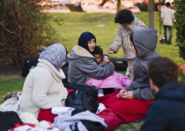 Refugiados sirios en Uruguay