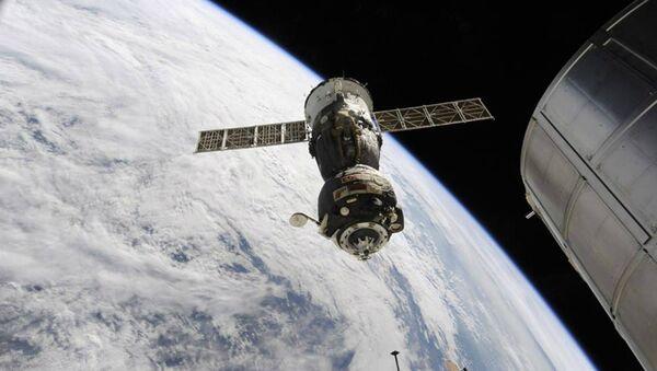La nave espacial Soyuz TMA-16M - Sputnik Mundo