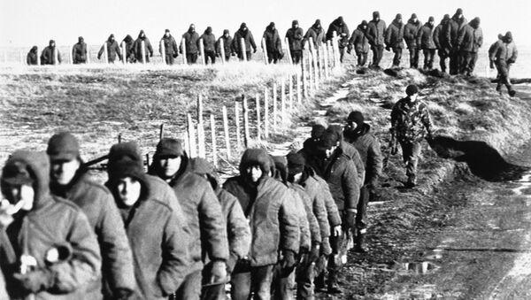 Soldados argentinos - Sputnik Mundo