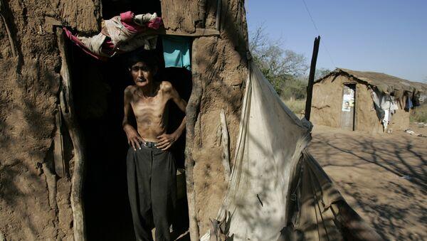 Indígena argentino de 52 años en la provincia de Chaco - Sputnik Mundo