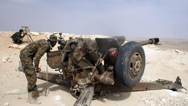 Soldado sirio (Archivo) - Sputnik Mundo