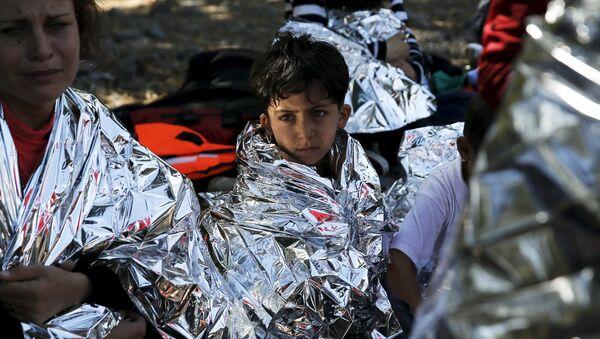 Inmigrantes ilegales en Grecia - Sputnik Mundo