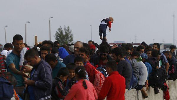 Refugiados en Austria - Sputnik Mundo