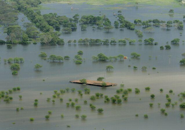 Resultado del fenómeno El Niño en Colombia