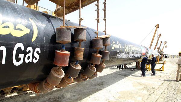 Construcción de gasoducto en Irán - Sputnik Mundo