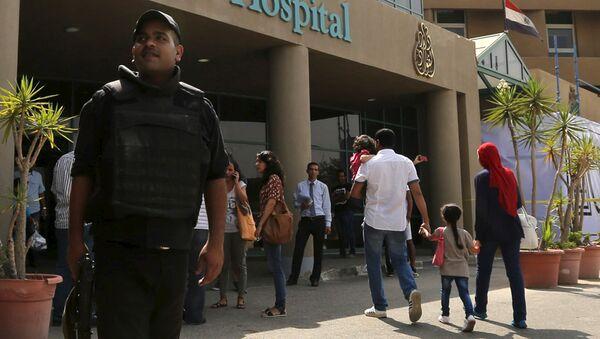 Un policía egipcio - Sputnik Mundo