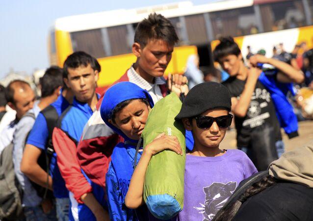 Inmigrantes en la UE (achivo)