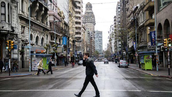 Huelga de 24 horas en reclamo de aumentos salariales y en rechazo a la participación de Uruguay en el TiSA - Sputnik Mundo