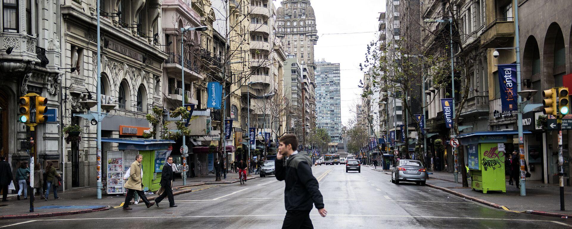 Huelga de 24 horas en reclamo de aumentos salariales y en rechazo a la participación de Uruguay en el TiSA - Sputnik Mundo, 1920, 21.04.2021