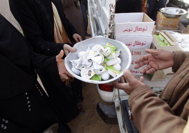 Refugiados en Túnez (Archivo)