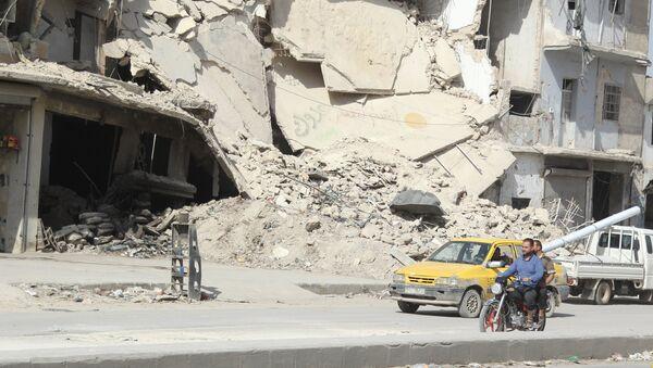 En la provincia siria de Alepo - Sputnik Mundo
