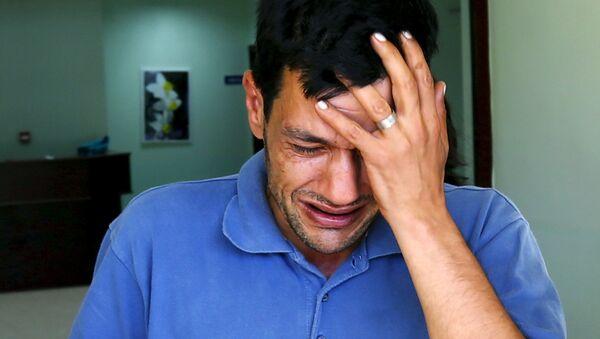 Abdulá Kurdi, padre del niño sirio Aylan Kurdi ahogado en Turquía - Sputnik Mundo