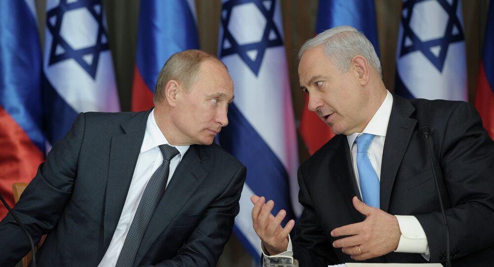 Vladímir Putin, presidente de Rusia y Benjamín Netanyahu, primer ministro de Israel (archivo)