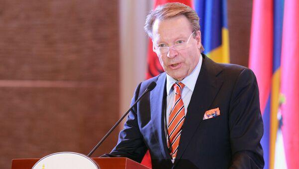 El jefe de la Asamblea Parlamentaria de la OSCE, Ilkka Kanerva - Sputnik Mundo
