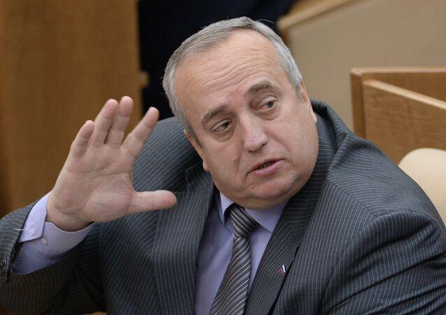 Franz Klintsévich, vicepresidente del Comité de Defensa y Seguridad del Consejo de la Federación de Rusia
