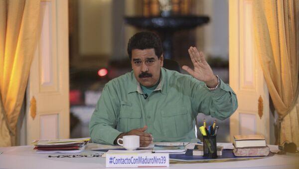 Presidente de Venezuela, Nicolas Maduro (archivo) - Sputnik Mundo